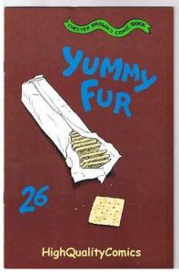 YUMMY FUR #26, VF, Chester Brown, Indy, Vortex, 1986, more indies in store