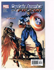 Captain America And The Falcon # 3 Marvel Comic Books Great Issue Modern Age S25