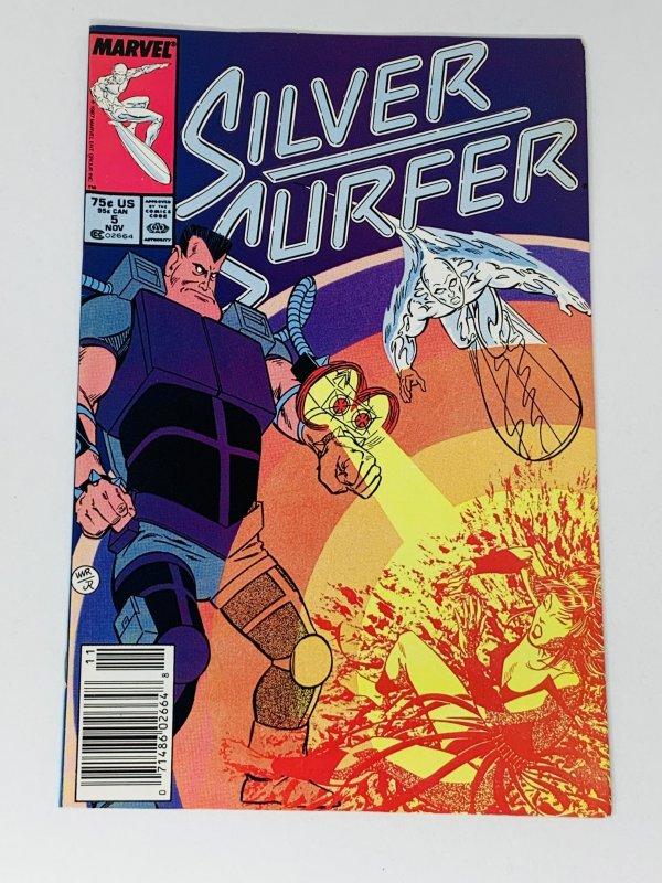 Silver Surfer #5 (1987) RA1