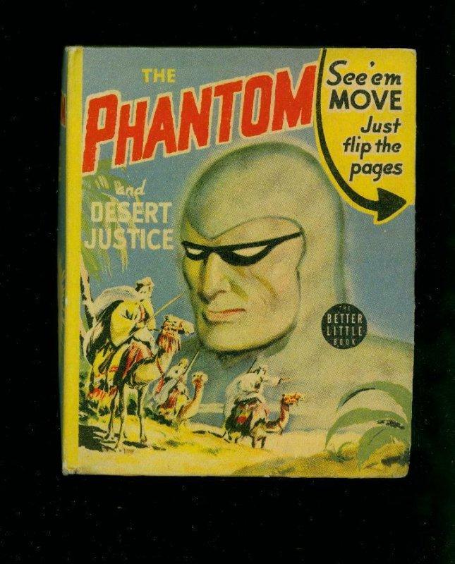 THE PHANTOM AND DESERT JUSTICE-#1421-BIG LITTLE BOOKS-1941-vf VF