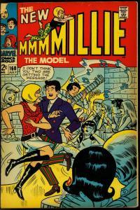 MILLIE THE MODEL #160 1968 MARVEL GOOD GIRL ART  POSES G/VG