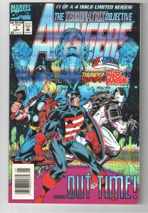 KANG!!-AVENGERS TERMINATRIX OBJECTIVE-1st KANG SWAACH;1st APP. ALIOTH
