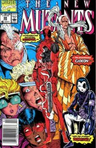 New Mutants, The #98 (Newsstand) FN; Marvel | save on shipping - details inside