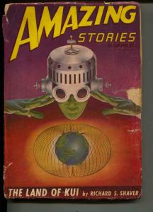 Amazing Stories-Pulp-12/1946-Richard S. Shaver-Don Wilcox