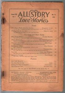 All-Story Love Stories 5/15/1933-Munsey-pulp fiction-coverless copy-P