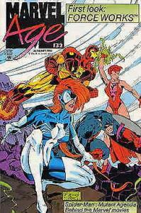 Marvel Age #132 FN; Marvel | save on shipping - details inside