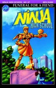 Ninja High School #97 VF/NM; Malibu | save on shipping - details inside