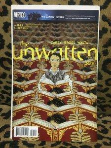 THE UNWRITTEN - VERTIGO - 20 ISSUES #34-54 - 2012-2013 - VF