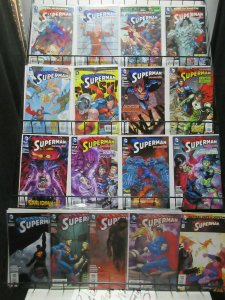 Superman (New 52 2012) #14-52 Lot of 17Diff Man of Steel Extreme Adventures
