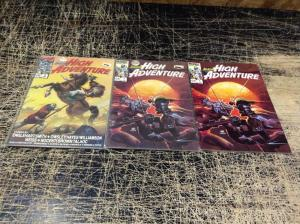 Lot Of 3 Amazing High Adventures Marvel Comic Books # 1(2) 2 Awesome Issues!! N9