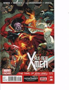 Lot Of 2 Comic Books Marvel All New X-Men #23 and #24    ON9