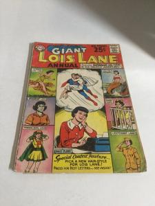 Superman's Girlfriend Lois Lane Annual 1 Gd Good 2.0 Cover Detached DC SA