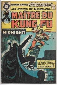 Maitre du Kung Fu   # 2 GD (French Master of Kung Fu)