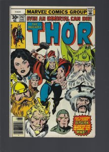 Thor #262 (1977)