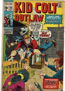 Kid Colt Outlaw #154 Herb Trimpe FN+
