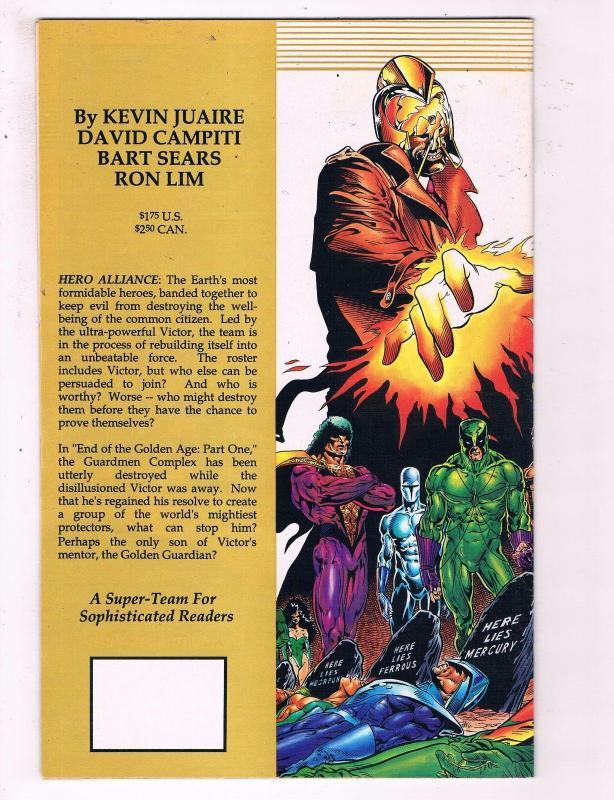 Hero Alliance #1 VF Innovation Comic Book DE13
