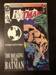 Batman #497-1993 VF 1st Bane Breaks Batman's Back Knightfall
