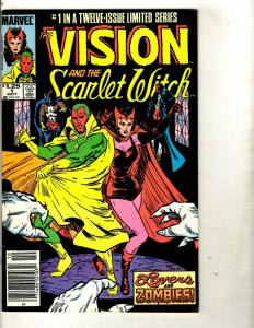 Lot of 12 Vision and Scarlet Witch Marvel Comics #1 2 3 4 5 6 7 8 9 10 11 12 DS2