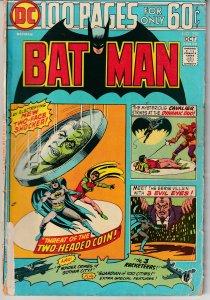 Batman # 258 The Original 100 PGer