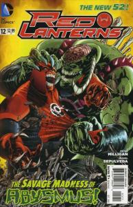 Red Lanterns #12 FN; DC | save on shipping - details inside