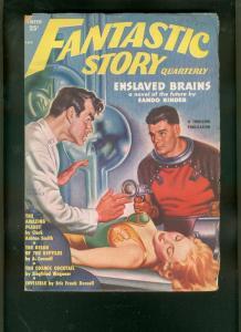 FANTASTIC STORY QUARTERLY-WINT 1951-CLARK ASHTON SMITH VG