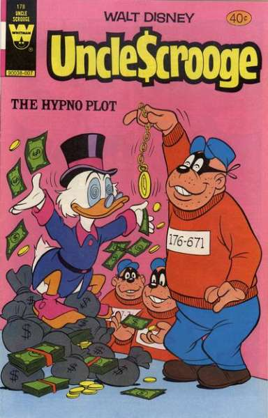 Uncle Scrooge #376 VF 8.0 2008 Stock Image