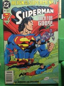 Superman #82 Reign of the Supermen!
