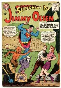 Superman's Pal Jimmy Olsen #81 1964- horror cover VG
