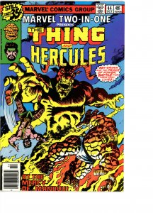 Marvel Two-In-One 44 F/VF   Hercules!