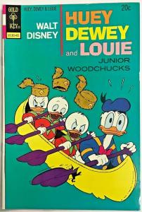 WALT DISNEY HUEY DEWEY & LOUIE#24 VF 1974 GOLD KEY BRONZE AGE COMICS