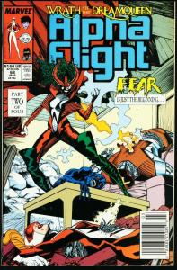 ALPHA FLIGHT #68-MARVEL COMICS-MUTANTS!-JIM LEE NM