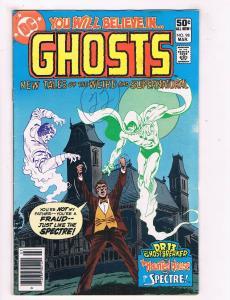 Ghosts #98 VG/FN DC Comics Bronze Age Comic Book Mar 1981 Horror DE39 AD12