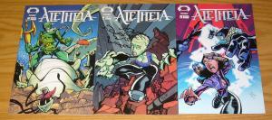 Aletheia #1-3 VF/NM complete series - image comics good girl set lot bob lefevre