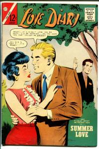Love Diary #25 1963-Charlton-Romance triangle cover-VF