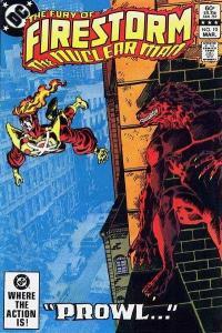 Fury of Firestorm (1982 series) #10, VF+ (Stock photo)