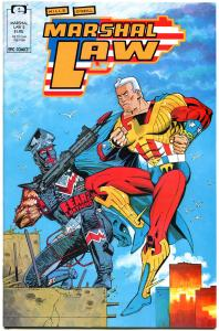 MARSHAL LAW #2 3 4 5 6, VF/NM, 5 iss, Kevin O'Neill, 1988, more Epic in store