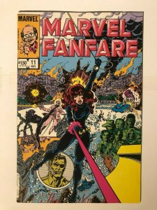 Marvel Fanfare #11 - 1st Appearance of Iron Maiden - Black Widow Movie