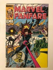 Marvel Fanfare #11 - 1st Appearance of Iron Maiden - Black Widow Movie