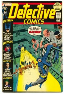 DETECTIVE COMICS #421 1972 --BATMAN BATGIRL NEAL ADAMS FN/VF