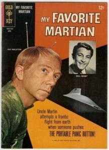 MY FAVORITE MARTIAN (1964 GOLD KEY) 7 F- RAY WALSTON/ B COMICS BOOK