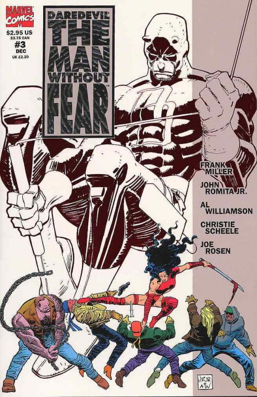 Daredevil The Man without Fear #3 VF/NM; Marvel | save on shipping - details ins