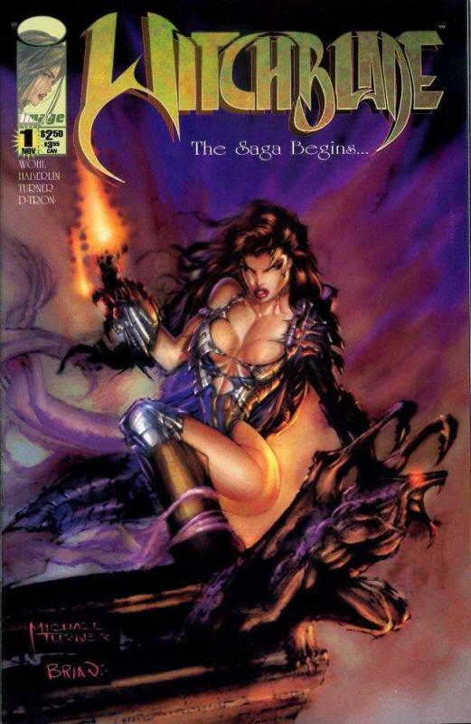 WITCHBLADE  10-Different, Furious Femme Fatale, Instant