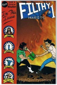 FILTHY HABITS #1, NM, Jesus, Record Albums, 1996, more indies in store