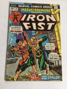 Marvel Premiere 16 Fn/Vf Fine/Very Fine 7.0 2nd Iron Fist