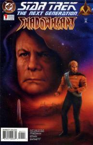 Star Trek: The Next Generation - Shadowheart #1, NM- (Stock photo)