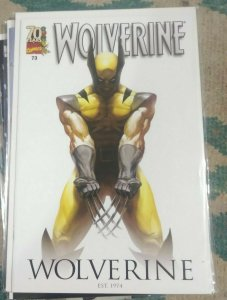 WOLVERINE #73  2014 marvel   70th Anniversary Variant Cover by MARKO DJURDJEVIC