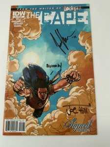 THE CAPE #1 SIGNED EDITION SIGNED BY JOE HILL, COVER B & SKETCH COVER NM.