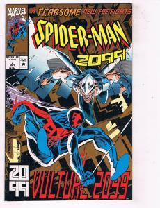 Spider-Man 2099 #7 VF Marvel Comics Comic Book Avengers Sept 1993 DE48