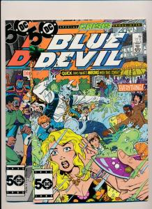 DC Comics BLUE DEVIL lot #17,18 (1985) ~ VF/NM (PF200) 2 Comics