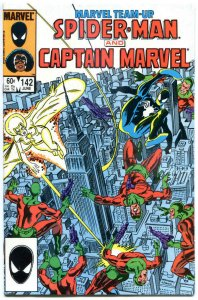 MARVEL TEAM-UP #142, NM-, Spider-man, Captain Marvel, 1972 1984  more in store